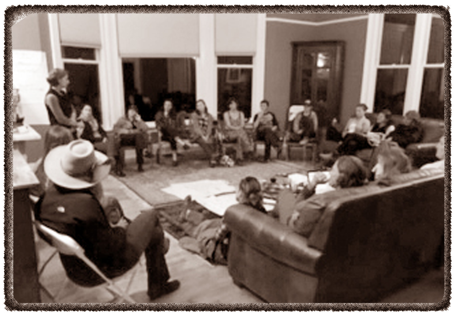 February 2016: Women in Ranching -- Circling Up with the first gathering of radical innovative women working in ranching.